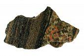 Gneis und Granit-Kontakt