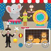 Circus Elements Set
