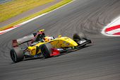 MOSCOW - JUNE 23: Norman Nato of Dams team (FRA) race at Formula Renault 3.5 race at World Series by