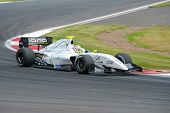 MOSCOW - JUNE 23: Oliver Webb of Fortec Motorsports team (GBR) race at Formula Renault 3.5 race at W