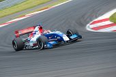 MOSCOW - JUNE 23: Mikhail Aleshin of Tech 1 R team (FRA) race at Formula Renault 3.5 race at World S