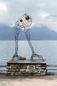 Modern Art Before Flight In Montreux