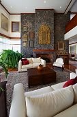 Serie de diseño de interiores: salón clásico. CASA GRANDE