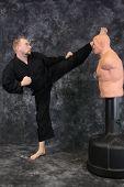 Karate Kick In The Head