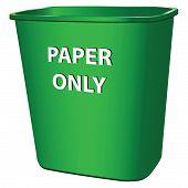 Contenedor para papel