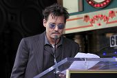 LOS ANGELES - JUN 24:  Johnny Depp at  the Jerry Bruckheimer Star on the Hollywood Walk of Fame  at