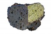 Mantle Xenolith In Basalt