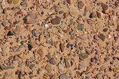 Alluvium In Desert