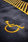 Disabled Person Parking Place