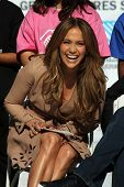 Jennifer Lopez  at a Boys And Girls Clubs Of America Announcement With Denzel Washington And Jennife
