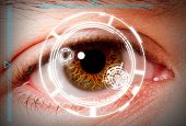 Biometric Iris Scan Security Screening