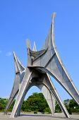 The Alexander Calder sculpture L'Homme