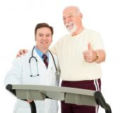 Senior Man Heart Healthy