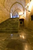 Palace of Templar knights at Rhodes, Greece