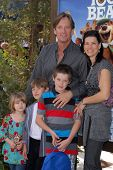 Kevin Sorbo and family at the