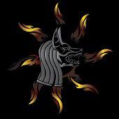 Anubis fier tribal