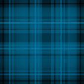 Blue plaid fabric pattern background
