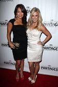 Carrie Ann Inaba, Chelsie Hightower at the