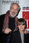 Michael Gross and grandson at the