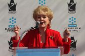 Debbie Reynolds at the Kim Novak Hand and Foot Print Ceremony to coincide with the TCM Film Fest, Ch