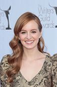 Ahna O' Reilly at the 2012 Writers Guild Awards, Hollywood Palladium, Hollywood, CA 02-19-12