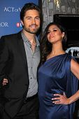 Eric Winter, Roselyn Sanchez at the