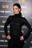 Gabrielle Anwar at USA Network and Moth present