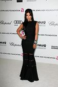Kim Kardashian at the 20th Annual Elton John AIDS Foundation Academy Awards Viewing Party, West Holl