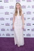 Brit Marling at the 2012 Film Independent Spirit Awards, Santa Monica, CA 02-25-12