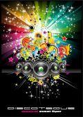 Evento de discoteca Urban abstract Background