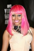Nicki Minaj at the 2010 MTV Video Music Awards Press Room, Nokia Theatre L.A. LIVE, Los Angeles, CA.
