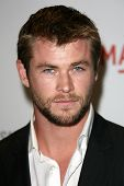 Chris Hemsworth at LACMA presents