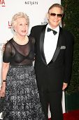 Michael York and wife Pat  at LACMA presents