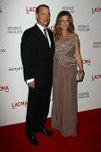 Tom Hanks and Rita Wilson at LACMA presents