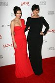 Kim Kardashian, Kris Jenner at LACMA presents