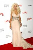Christina Aguilera at LACMA presents
