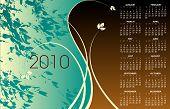 2010 floral calendar