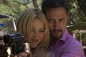 Jennifer Blanc and Denny Kirkwood On the Set of