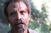 Michael Biehn On the Set of