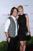 Louie Vito and Kelly Osbourne at the 8th Annual Teen Vogue Young Hollywood Party, Paramount Studios,