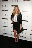 Sally Pressman at the ELLE and Express