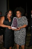 Sherri Shepherd and Yvette Nicole Brown  at the 2010 BraveHeart Awards, Hyatt Regency Century Plaza