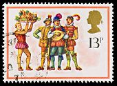Christmas Postage Stamp