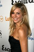 Sienna Miller at the Esquire House LA Opening Night Event With International Medical Corps, Esquire