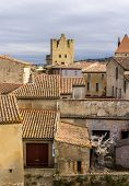Inside Carcassonne Fortified City - France