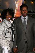 Pauletta Washington, Denzel Washington at the