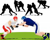 picture of football helmet  - Red vs - JPG