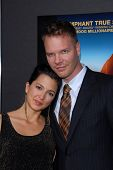 Jim Parrack, wife Ciera Parrack at the