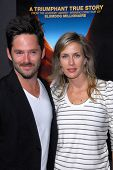 Scott Cooper, Jocelyne Cooper at the