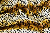 Tiger Textile, Piece Of Clothes.